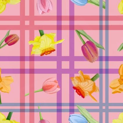 danica-y-floral-check-design