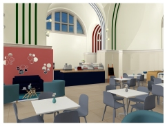 Southampton Civic Centre Art Gallery Cafe