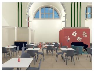 Southampton Civic Centre Art Gallery Cafe