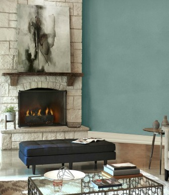 Behr-In-the-Moment-in-a-living-room-with-stone-fireplace.-Photo-via-Behr.-Info-Kylie-M-Interiors-paint-colour-decor-blog