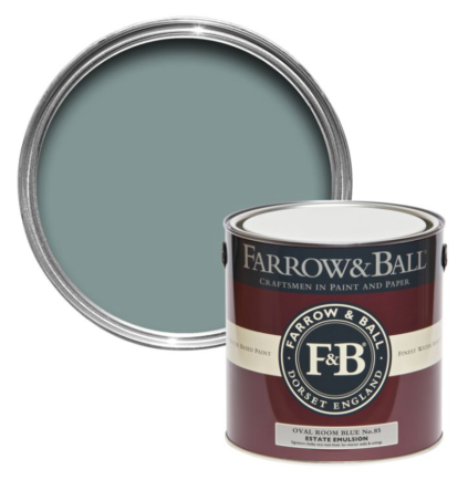 Farrow and Ball Oval Room Blue No 85