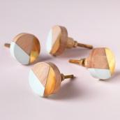 397567-wood-brass-resin-round-door-knob-aqua-2